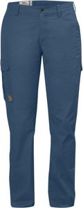 Fjällräven - Övik Trousers Curved Women - Uncle Blue – Bild 1