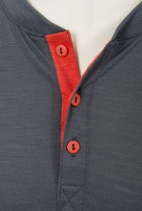 Aclima Lightwool Men's Henley Shirt – Bild 5