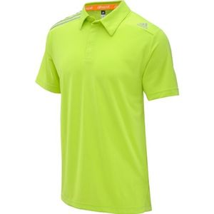 adidas Herren Poloshirt Climachill, Solar Slime, F82153
