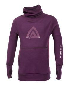 Aclima WarmWool Junior Hood Sweater – Bild 1