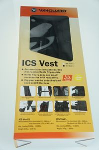 Vanguard ICS Vest L Multifunktionsweste schwarz – Bild 1