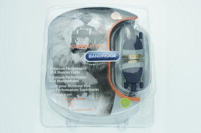Bandridge 10 m Premium Performance VGA Monitor Kabel – Bild 1