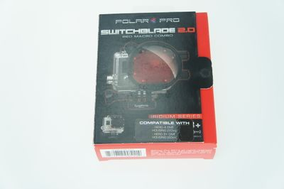 Polar Pro Switchblade 2.0 Color Correction Filter Combo für GoPro Hero4/3+ – Rot – Bild 2