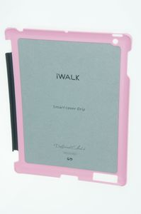 iWALK Apple  Smart Cover Grip for iPad2  ROSA - U2OUNS007PNK – Bild 2