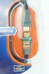 Bandridge  Kabel HDMI 5 m – HDMI Kabel (HDMI, HDMI, männlich/männlich, Schwarz)- bcl2315 – Bild 2