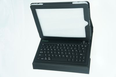 Sleek iPad Business Case (A10011290) iPad Tastatur mit QWERTZ Layout - schwarz – Bild 1