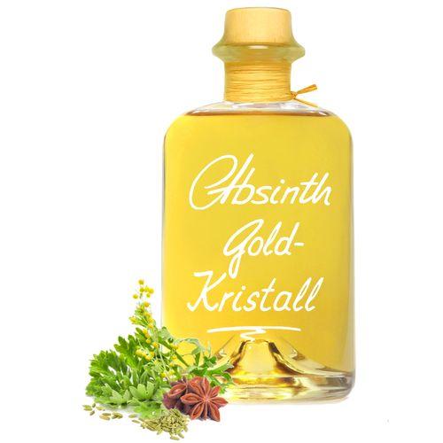 Absinth Gold Kristall ohne Farbstoff mit maximal erlaubtem Thujongehalt 35mg/L 55%Vol