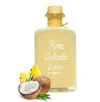 Pina Colada Likör Kokos & Ananas auf Sahne Creme - einfach lecker! 18% Vol.