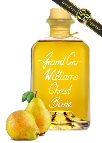 Grand Cru Williams Christ Birne sehr fruchtig & weich Edelspirituose 40%Vol kein Birnenbrand