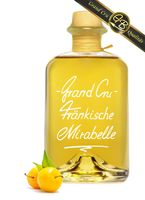 Grand Cru Fränkische Mirabelle sehr fruchtig u. weich 40% Vol Schnaps Obstler Spirituose