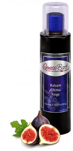 Balsamico Creme Feige 3% Säure mit original Crema di Aceto Balsamico di Modena IGP.
