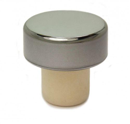 5x Titan Griff Korken poliert aus PE für alle gängigen Flaschen Sehr robust! 19 mm
