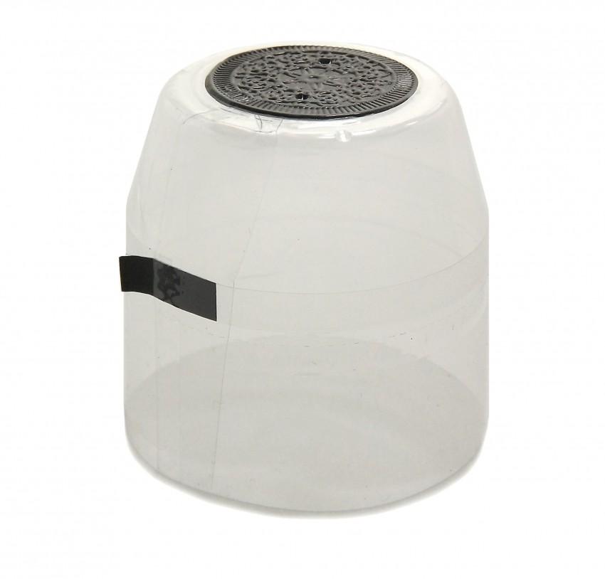 25x Schrumpfkapsel für Glas Flaschen Granat rot seidenmatt Flaschenkapsel