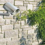 Sicherheits Wandlampe  6 LED's # 87008 mit Infrarot Bewegungssensor