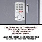 Tür- und Fensteralarm mit Code SAFE ALARM YL-354 # 96024 Alarmanlage Hausalarm
