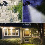 LED Spot mit Infrarot Bewegungs-Sensor für Außeneinsatz # 15926 Batteriebetrieb Bewegungsmelder