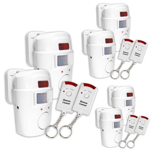 Alarmanlagen GRUNDIG Bewegungssensor 2-10 Alarm Geräte IR Fernbedienungen Sensor