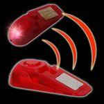 Türstopper Alarm mit 2 LED's 100 dB # 08365 Alarmanlage Türsicherung Türkeil