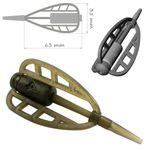 In-Line Method Feeder Carp Rig Fertig Montage # CR7 Komplett Karpfenmontage