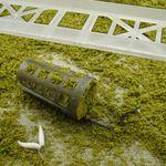 SYMMETRISCHE SCHLAUFE mit Feedergummi # FR88 Fluorocarbon Futterkorb Montage