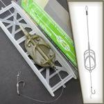 ARC FLAT Method Feeder Fluorocarbon Hauptschnur # CR43 Karpfen Montage