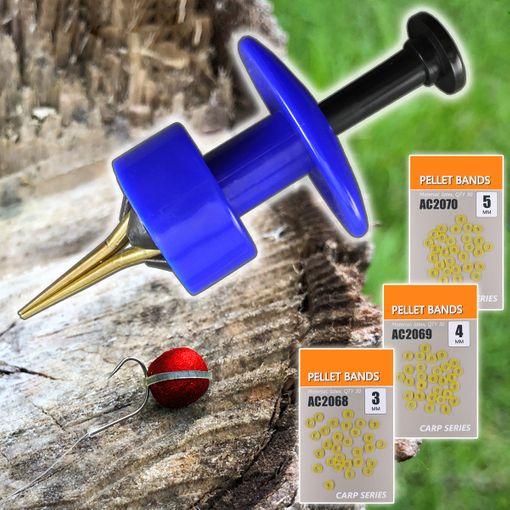 Life-ORANGE Bait Band Tool & Pellet Bands 3 4 5 mm # AC2067 AC2068 AC2069 AC2070