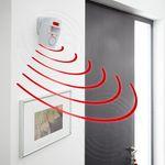 Sensoralarm inkl. 2 Fernbedienungen First Alarm # 37097 Alarmanlage