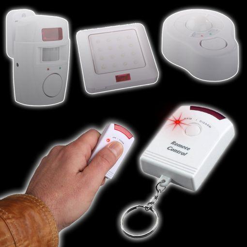 first alarm infrarot fernbedienungen f r sensoralarm. Black Bedroom Furniture Sets. Home Design Ideas