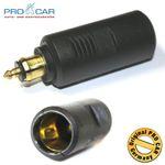Normsteckdosen-Adapter 16A 12-24V ProCar # 28497