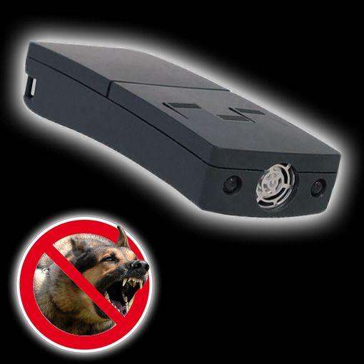 Hundeschreck PROFI m. LED-Leuchte Ultraschall # 204745 Hundeabwehr