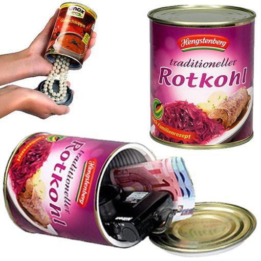 Safe Dose Hengstenberg Rotkohl RK Maxi - 23603 Dosensafe Versteck