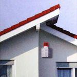 Pentatech AS09 Alarm Sirenen-Attrappe # 33111 Fake Alarmanlage Außensirene