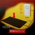 Pentatech TM02 Akustische Trittmatte # 33620 Alarmanlage Durchgangsmelder Katzenklingel