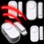 4 x Tür und Fensteralarm # 5106-00228 Türalarm Sirene Alarm