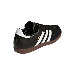 adidas Samba Klassiker Sneaker und Hallenfußballschuhe schwarz / weiß – Bild 4