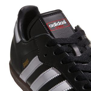 adidas Samba Klassiker Sneaker und Hallenfußballschuhe schwarz / weiß – Bild 7