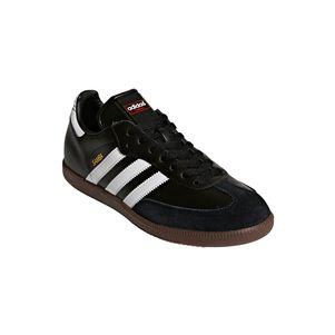 adidas Samba Klassiker Sneaker und Hallenfußballschuhe schwarz / weiß – Bild 3