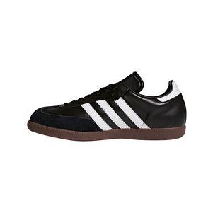 adidas Samba Klassiker Sneaker und Hallenfußballschuhe schwarz / weiß – Bild 2
