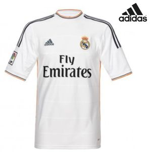 adidas Real Madrid Home Jersey Trikot 2013/2014 weiß