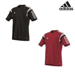 adidas Condivo14 Training Kinder Trikot schwarz / weiß / rot – Bild 1
