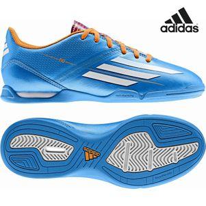 adidas F10 IN J Kinder Hallenfußballschuhe blau Samba Edition