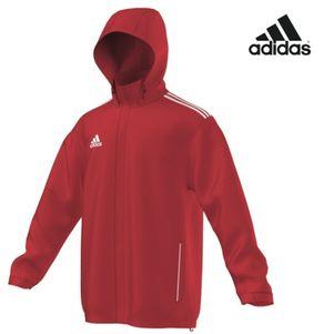 adidas Core 11 Regenjacke Jacke Kinder rot
