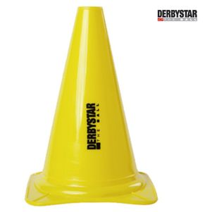 Derbystar Markierungs- und Trainingskegel Höhe 30 cm gelb