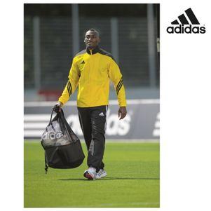 adidas Sereno14 Präsentationsanzug Erwachsene gelb / schwarz / weiß – Bild 2