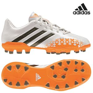 adidas Predator Absolado LZ TRX AG J Kinder weiß / orange EarthPack