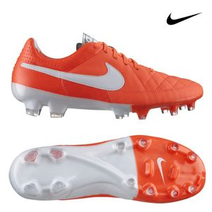 Nike Tiempo Weiss Rot