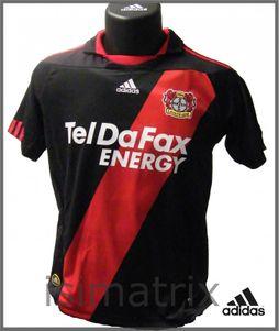 adidas Bayer Leverkusen Trikot Heim 2011 Teldafax Erwachsene