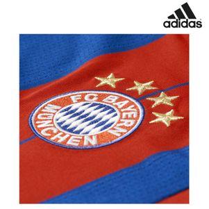 adidas FC Bayern München Home Heimtrikot 2014/2015 rot/blau – Bild 2