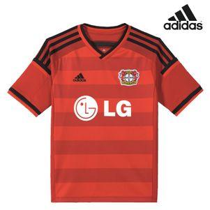 adidas Bayer 04 Leverkusen Home Kinder Heimtrikot 2014/2015 rot