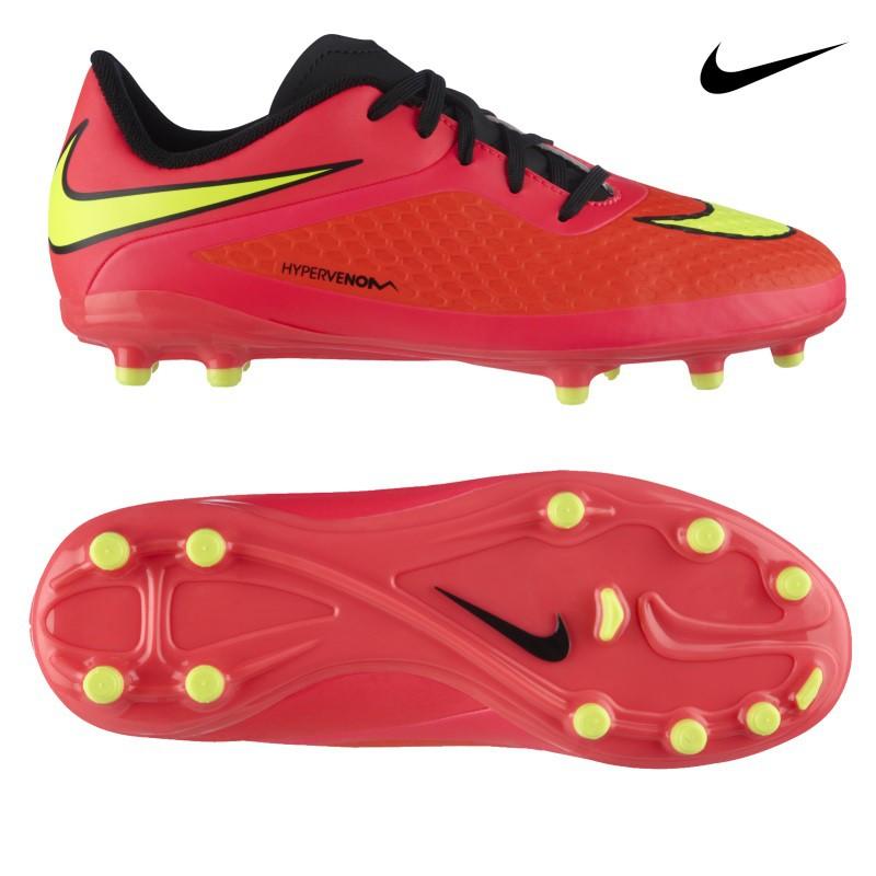Nike Hypervenom Phelon Fg Jr Wm 2014 Kids Fussballschuhe Orange Gelb